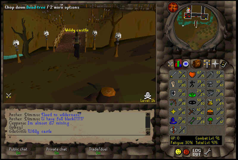 Runescape II Screenshots